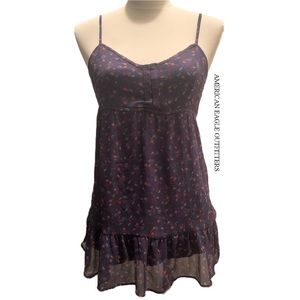 American Eagle Outfitters Floral Tunic Cami